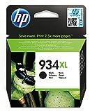 HP 934XL Schwarz Original Druckerpatrone mit hoher Reichweite für HP Officejet Pro