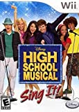 High School Musical Sing It Game Only - Nintendo Wii by Disney Interactive Studios
