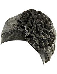 OYSOHE Sonnenhut Damen Neueste Frauen Muslim Stretch Turban Hut Chemo Cap Haarausfall Kopftuch Wrap Hijab Cap
