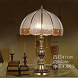 Lampes en verre rétro 66*41cm Tresse en cuivre