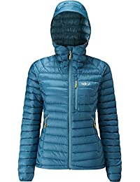 RAB WOMENS MICROLIGHT ALPINE JACKET BLAZON SEAGLASS (SIZE UK 14) dfd8dd735086