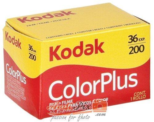 Kodak, Typ Colorplus 200ASA, 3Stück