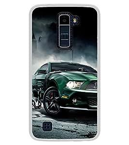 ifasho Designer Back Case Cover for LG K10 :: LG K10 Dual SIM :: LG K10 K420N K430DS K430DSF K430DSY (Golf Cars Photography Film)