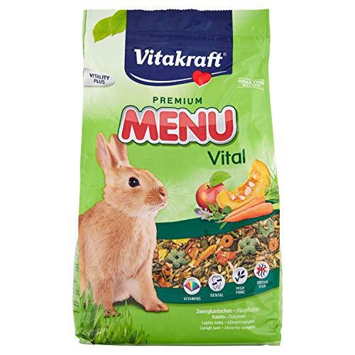 VITAKRAFT 1571260031 - Menu Aroma para Conejos Enanos 3 kg