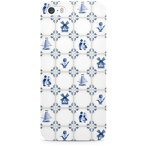 Delft Bleu poterie Holland Apple iPhone 6 Plus 5S 5 C 5 4 iPod et plus, plastique, blanc, Apple iPhone 5s