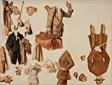 Posterlounge Alu Dibond 130 x 100 cm: Studie Herrenmode von Joseph Christian Leyendecker