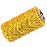 BQLZR 200M 150D 1mm Wachs Schnur Kordel Handwerk DIY Leder Hand Nähen gewachst Schmuck Basteln
