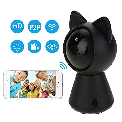 Hangang HD 1080p WiFi IP Kamera Wifi Mignon Katze Smart WiFi Kamera Smart Camera Unterstützung P2P Nacht Vision Bewegungserkennung bidirektional Audio Kontrolle des Telefon