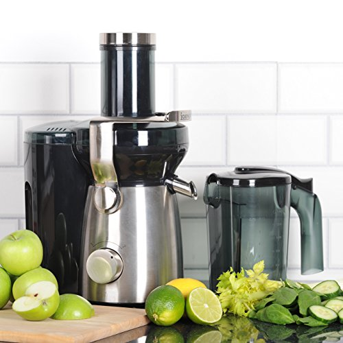 Igenix IG8810 Whole Fruit Juicer, 1000 W – Stainless Steel