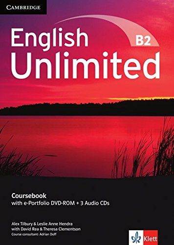 English Unlimited B2: Coursebook with e-Portfolio DVD-ROM + 3 Audio-CDs