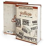 XXL Hard Cover libro di ricette Italiano fai scrivere ricettario le mie Ricette ricettario taccuino regalo per ricette collezionare 164pagine bianche-libro da cucina