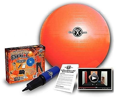 Entrainement Golfgym - Ballon d'entrainement Golf Gym Fitness (65 cm diam.)