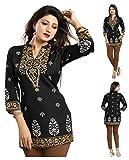 Unifiedclothes Women Fashion Fancy Indian Kurti Tunic Kurta Top Shirt Dress MI570