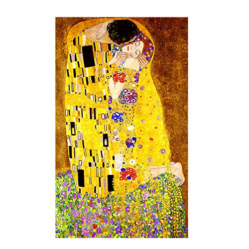 W15Y8 Artista clásico Gustav Klimt Beso Abstracto