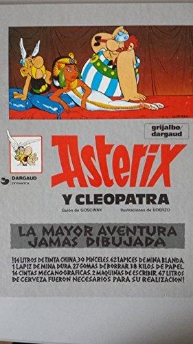 Asterix y cleopatra (Una aventura de Asterix) por R. Goscinny