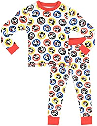 Disney Mickey Mouse - Ensemble De Pyjamas - Mickey Mouse - Garçon - Bien Ajusté