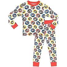 Disney Mickey Mouse - Pijama para Niños - Mickey Mouse - Ajuste Ceñido
