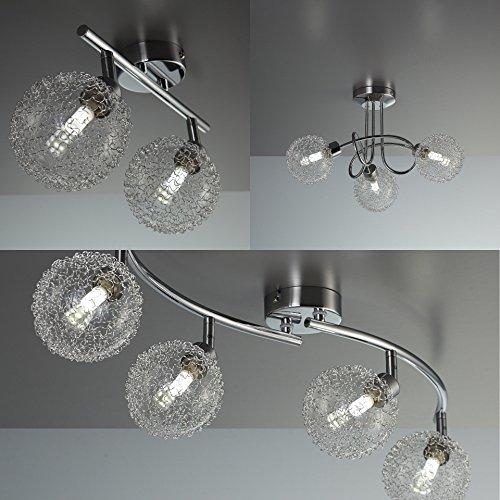 LED Deckenleuchte Deckenlampe Leuchte G9 Wohnzimmer