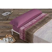 Antilo- juego de sábanas invierno, Microseda,CONY malva, cama de 135.