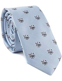 Corbata para hombre con diseño de burro de dibujos animados para fiestas 2683660cc1d9