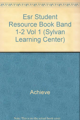 steck-vaughn-sylvan-learning-center-student-resource-book-level-1-2-band-1-2-volume-1
