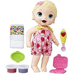 Baby Alive Super Snacks Snackin' Lily Blonde by Baby Alive