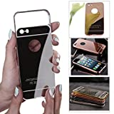 DMG Ultra Luxury Air Aluminum Metal Bumper Detachable + Mirror Hard Back Case for Apple iPhone 5 5S (Rose)
