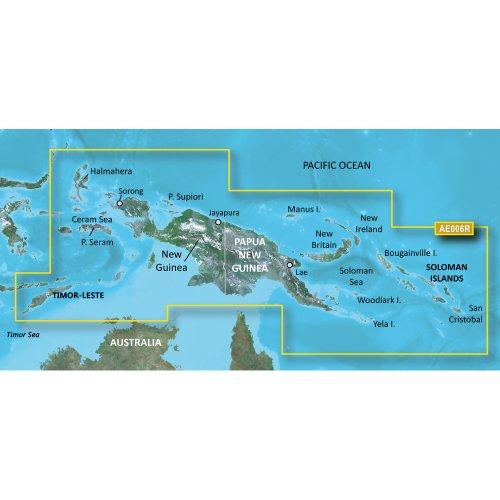 Garmin BlueChart g2 HD - HAE006R - Timor Leste/New Guinea - microSD™ /SD™
