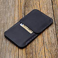 Leather case for Samsung Galaxy S9, S8 cover pouch