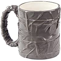 Hefty 14 Ounce Sculpted Ceramic Layered Duct Tape Handyman Coffee