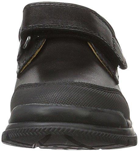 Geox Jr William A, Chaussures Velcro Garçon Noir (Blackc9999)