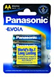 Panasonic Batterie Alkali, Envoia LR6EE Mignon
