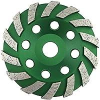 Muela de copa diamante 125 mm x 22,2 estándar para hormigón, mampostería, piedra. Muela de copa diamante 125 mm