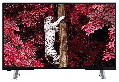 JVC LT-43VF53A 110 cm (43 Zoll) Fernseher (Full HD, Triple Tuner, DVB-T2 H.265/HEVC, Smart TV,