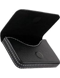 Leather Visiting/Credit Card Holder,Business Card Case Holder, ID Card Holder | Set of 1 - Color Brown