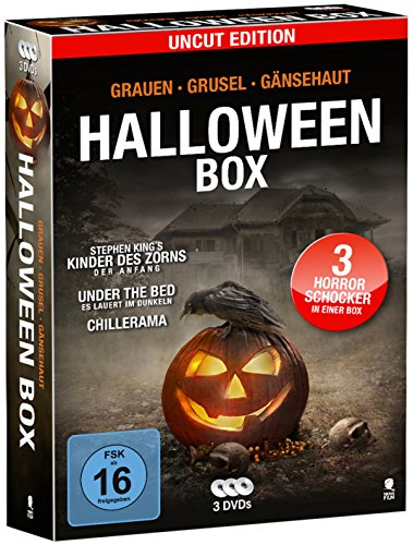 Halloween-Box (3 DVDs, Uncut Edition) (Halloween Dvds)