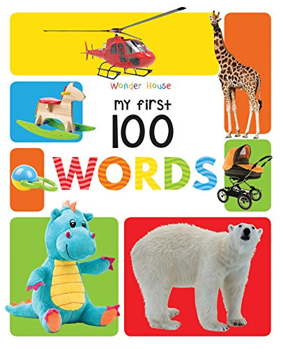 My First 100 Words- Padded Board Book