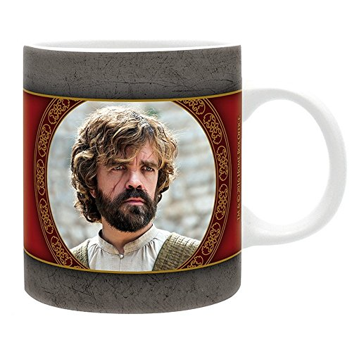 Game of Thrones - Keramik Tasse - Tyrion Lannister - I Drink And I Know Things - Geschenkbox