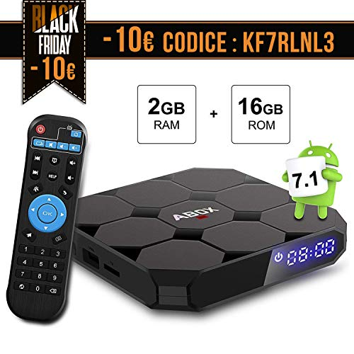 TV Box Android 7.1 [2G+16G] A1 MAX 4K Full HD...