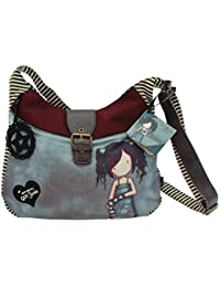 Santoro éclectique - Sac Slouchy de laine Gorjuss - Lost For Words