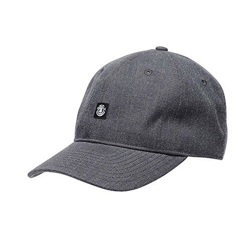 Element Fluky Dad Cap Größe: one_Size Farbe: Charcoal Heathe Brushed Cotton Twill Cap