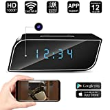 Spy Hidden Camera Alarm Clock 1080P WiFi Hidden Camera Motion Detection Wireless Camera
