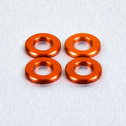 Aluminium Scheibe M5 Orange