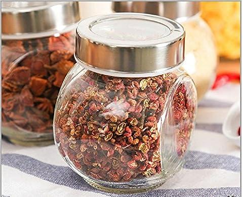 K&C 6,5 Unzen Runde Glas Gläser Hausgemachte Rezept Gläser Canning Gläser Kerze Gläser Gifting Gläser 1 Stk