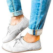 Gris Mujer Grandes Tallas es Zapatos Amazon v0FOw4qOx
