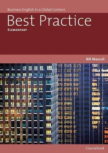 Best Practice. Elementary Level (Best Practice (Thomson Heinle)) por Vv.Aa.