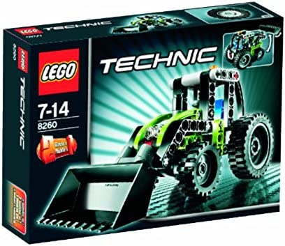 LEGO - 8260 - - Jeu de construction - - Technic - Le mini tracteur B001CQSZ62 0064fe