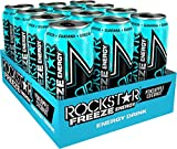 Rockstar Energy Drink Freeze Pineapple & Coconut - Koffeinhaltiges Erfrischungsgetränk für den Energie Kick, EINWEG (12x 500ml)