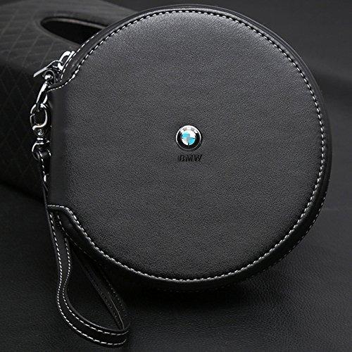 Preisvergleich Produktbild OPAYIXUNGS CD Tasche (CDs / DVDs / Blu-rays,  Mappe zur Aufbewahrung) schwarz Bmw logo