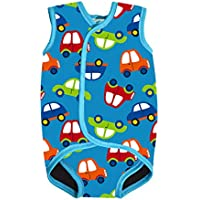 AMAGGIGO Chaleco de neopreno para bebé/niño con diseño UPF50 para niños/niñas de 0 a 3 años (FBA)